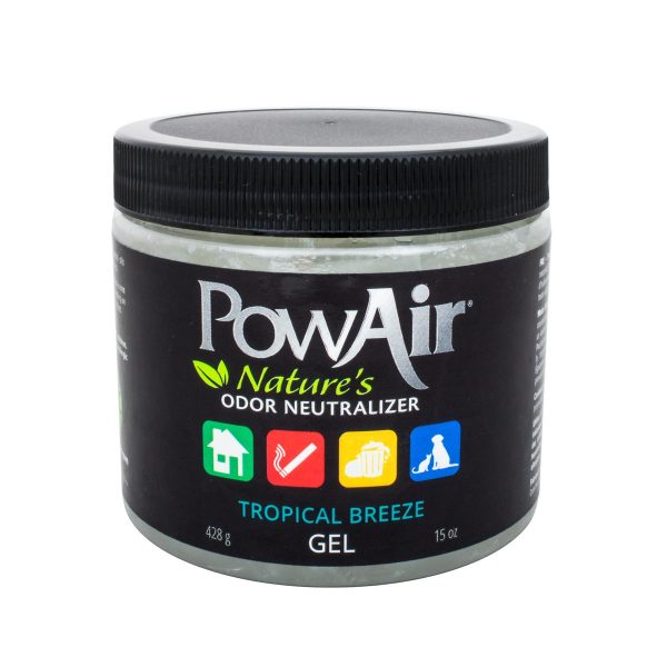 PowAir Gel Tropical Breeze Stankverwijderaar