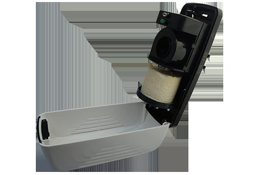 PowAir Block Dispenser met Block voor nare geurtjes
